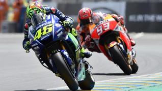Rapor Lima Seri 2017 Rossi-Marquez Lebih Buruk Dibanding 2016