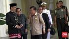 Gelak Tawa Jokowi-JK di Istana Bogor Tepis Isu Renggang