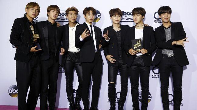 Jin 'BTS' Menantang Badai dalam Seri Terakhir 'Love Yourself'
