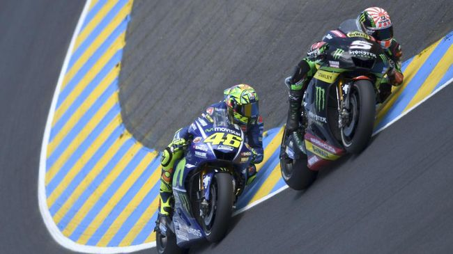 Zarco Incar Kursi Valentino Rossi di Yamaha
