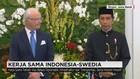 Presiden Jokowi Terima Kunjungan Raja & Ratu Swedia