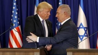 Trump Ingin Hadiri Pembukaan Kedutaan AS di Yerusalem Mei