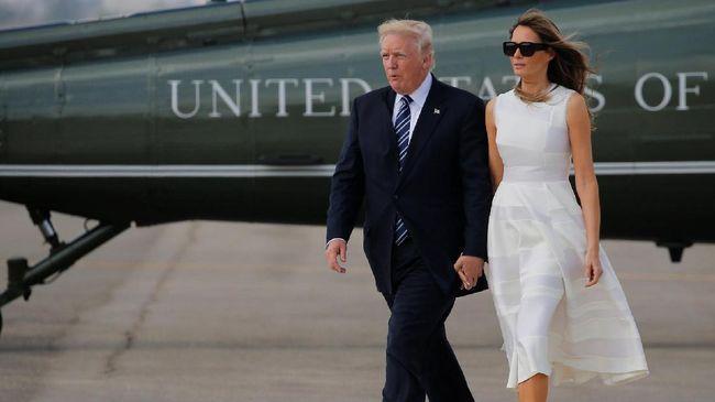 Komentar Tajam Melania Trump untuk Ivana Soal 'First Lady'
