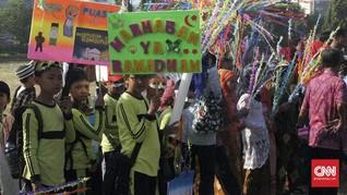 Ribuan Anak Semarang Meriahkan Karnaval Dugderan Ramadan