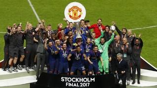 Manchester United Raih Pendapatan Tertinggi di Eropa