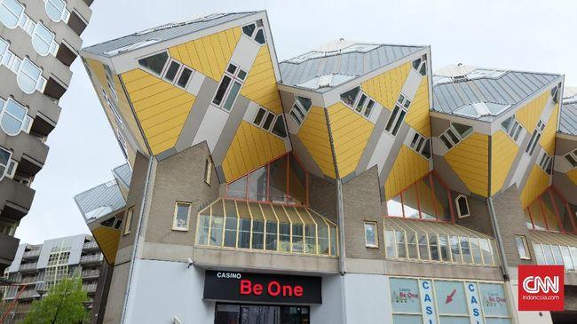Desain Rumah Minimalis Gaya Belanda  jatuh cinta dengan kota pelabuhan rotterdam