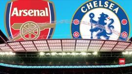 Arsenal vs Chelsea, Menanti Sejarah Baru di Wembley