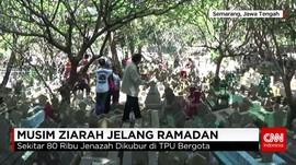 Jelang Ramadan Juru Kunci Makam Panen Pendapatan