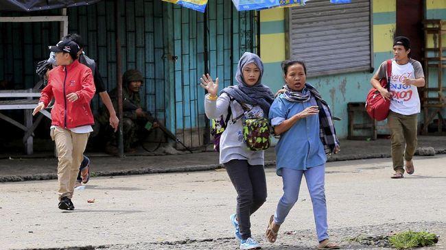 Bentrokan Kembali Pecah, Evakuasi Warga di Marawi Gagal