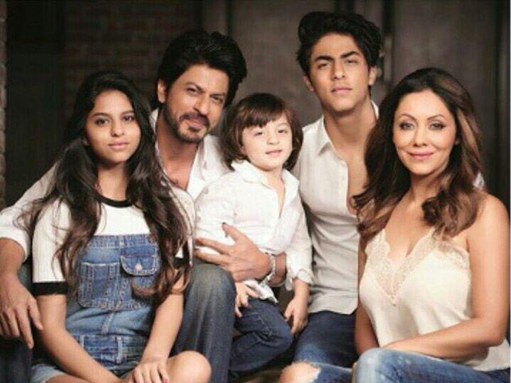 Shah Rukh Khan memiliki tiga orang anak. Dok.Instagram/ Suhana Khan