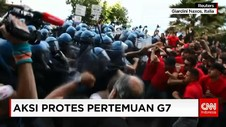 Aksi Protes KTT G7