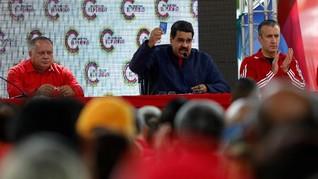 Maduro Larang Oposisi Ikut Pilpres Venezuela