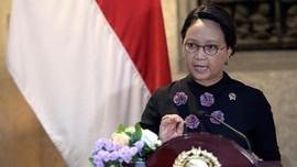 Menlu RI dan Sekjen PBB Minta Dunia Bantu Rohingya