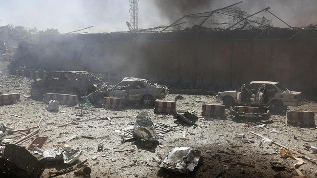 Ledakan Bunuh Diri di Masjid Syiah Kabul, 30 Orang Tewas