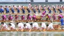 Dua Kapal Naga Terbalik di Cina, 17 Tewas