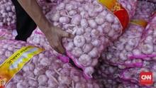 Jokowi Klaim Harga Bawang Putih Jadi Rp20 Ribu Pekan Ini