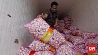 DKI Bakal Gelontorkan 145 Ton Bawang Putih Impor asal China