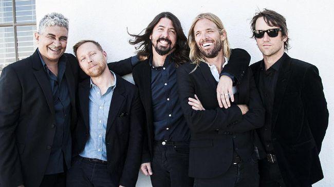 Foo Fighters Tuntas Garap Album Terbaru