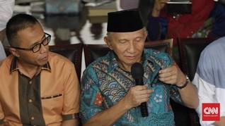 Amien Rais 'Seret' Sutrisno Bachir dalam Kasus Dana Alkes