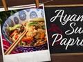 Resep Praktis Ayam Suwir Paprika