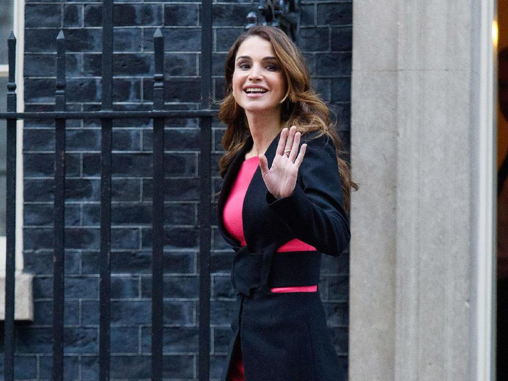 Foto: Pesona Kecantikan Ratu Yordania, Rania Al-Abdullah
