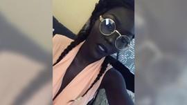 Model Nyakim Gatwech, Sang 'Ratu Hitam' dari Sudan
