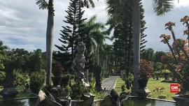 'Istana Air' Kerajaan Karangasem di Taman Ujung Bali