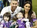 FOTO: Arti Keluarga di Final Liga Champions