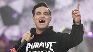Jatuh Bangun Robbie Williams Hadapi Gangguan Mentalnya