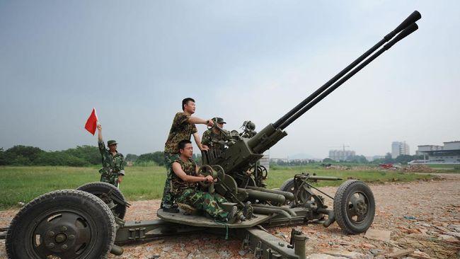 Anggaran Pertahanan China Naik Jadi Rp2.500 Triliun