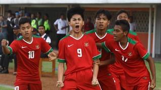 Timnas Indonesia U-16 Juara Turnamen Jenesys