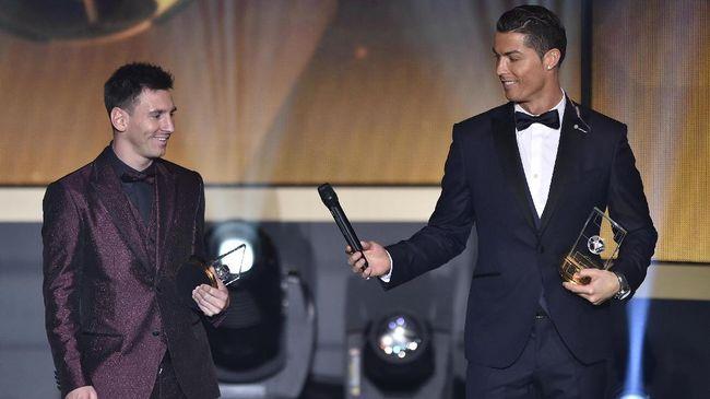 Daftar Pemenang Ballon d'Or: Messi dan Ronaldo Terbanyak