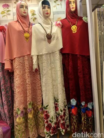 Gamis nagita slavina baju lebaran yang paling dicari di Baju gamis couple tanah abang