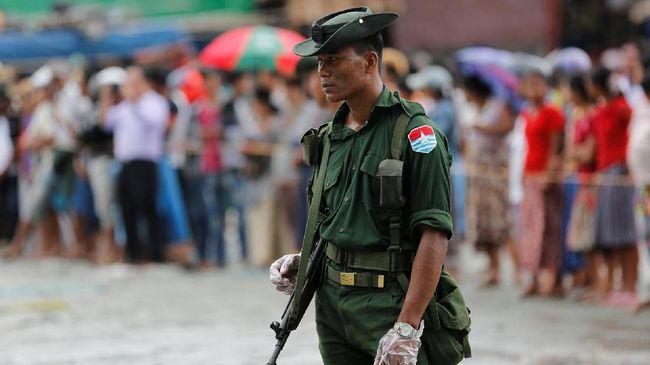Myanmar Bentuk Panel Reformasi Konstitusi Rancangan Militer