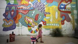 Tersentuh Damai dalam Seni Jalanan Israel