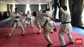 Jelang Asian Games 2018, Timnas Karate RI Latihan di Mesir