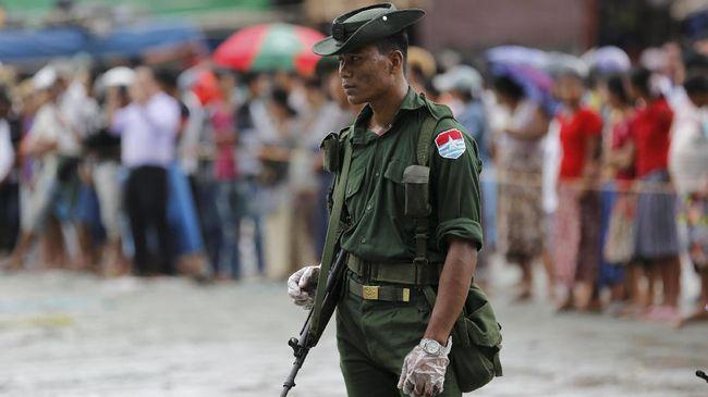 Australia Sanksi Lima Pejabat Militer Myanmar soal Rohingya