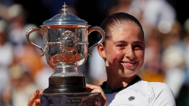 Jelena Ostapenko Juara Perancis Terbuka