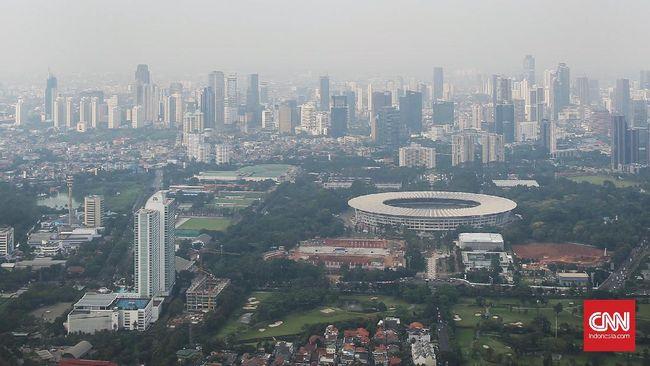 BMKG: Langit Biru Jakarta Bukan Karena Bebas Polusi