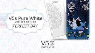 Vivo V5s Pure White Limited Edition Resmi Dirilis Hari Ini