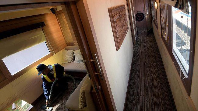 KAI Operasikan Kereta Bertempat Tidur Jelang Lebaran