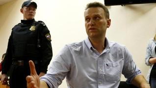 Serukan Protes, Oposisi Putin Kembali Dipenjara