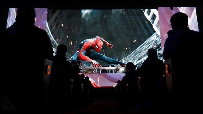 Ratusan Seniman Kerjakan 'Spider-Man: Into the Spider-Verse'