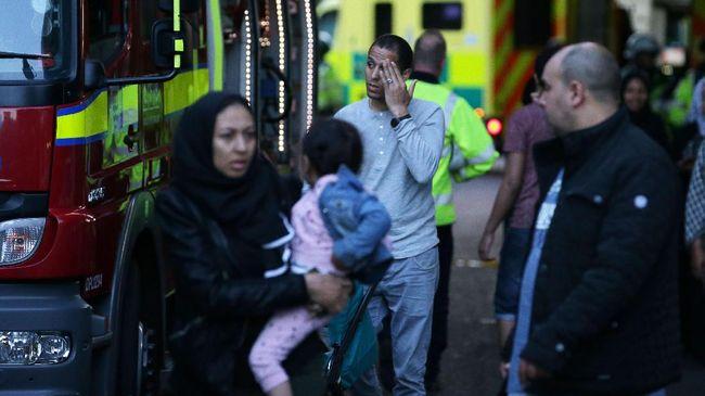 Investigasi Dimulai, Korban Kebakaran London Jadi 30 Orang