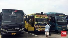 H-1 PSBB DKI, Mayoritas PO Bus Terminal Pulogebang Tutup