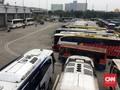 Puluhan Bus di Terminal Pulogebang Dinyatakan Tak Laik Jalan
