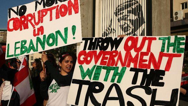 Diprotes, Perdana Menteri Libanon Mundur