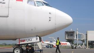 H-2 Lebaran, Bandara Adi Soemarmo di Solo Sepi