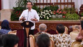 Jokowi Tanggapi Prabowo Soal 'Lelucon' Ambang Batas Presiden