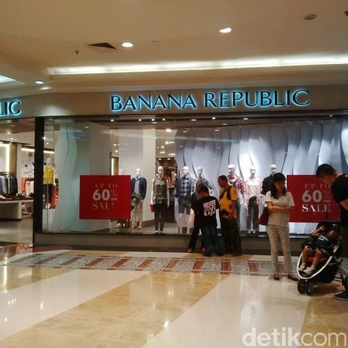 Blus Hingga Dress di Banana Republic Pondok Indah Mall Diskon 50%